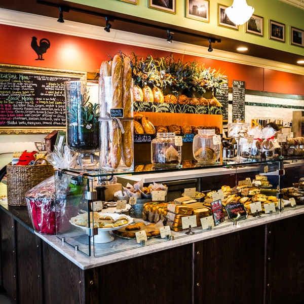 Ellie's Bakery, on Washington Street in Providence