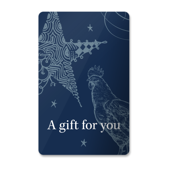 Gracie's gift card