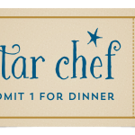 Star Chef Dinner ticket