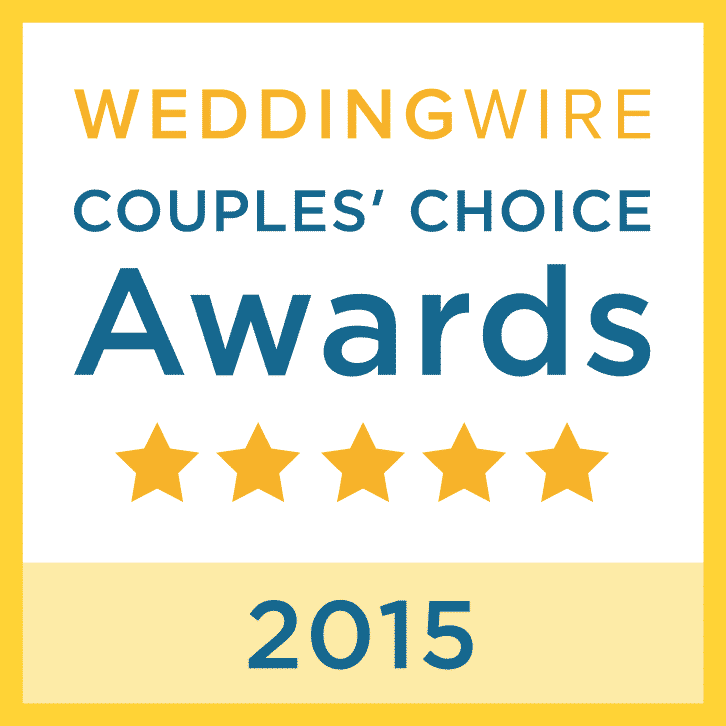 Wedding Wire Couple Choice Award 2015