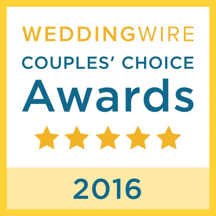 Wedding Wire Couple Choice Award 2016