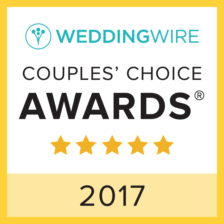 Wedding Wire Couple Choice Award 2017
