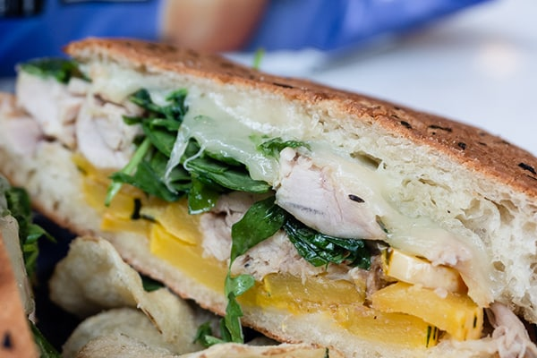 Chicken Confit Sandwich