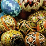 Pysanky Chocolate Eggs & Easter Candies
