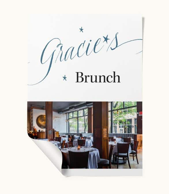 Gracie's lookbook: Brunch