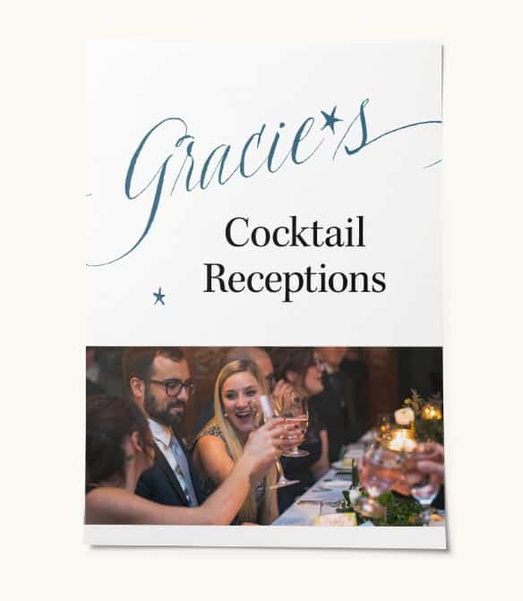 Gracie's lookbook: Cocktail Receptions